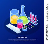 science research  chemical... | Shutterstock .eps vector #1331384273