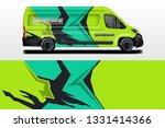 van vector car wrap  truck  bus ...   Shutterstock .eps vector #1331414366
