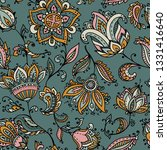 vector seamless pattern with...   Shutterstock .eps vector #1331416640