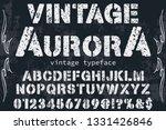 font alphabet script typeface... | Shutterstock .eps vector #1331426846