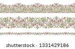 vector seamless borders in...   Shutterstock .eps vector #1331429186