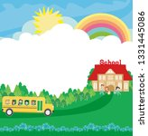 back to school card   Shutterstock .eps vector #1331445086