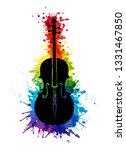 creative rainbow musical... | Shutterstock .eps vector #1331467850
