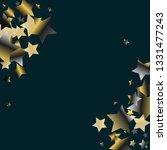 diagonal border from confetti... | Shutterstock .eps vector #1331477243