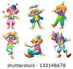 act,acting,amusement,background,balloons,balls,carnival,circus,clown,colorful,comedian,costume,drawing,entertainer,female