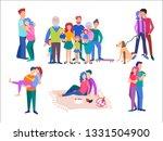 vector illustration of set... | Shutterstock .eps vector #1331504900
