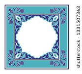 turkish arabic pattern vector... | Shutterstock .eps vector #1331507363