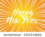 happy new year beautiful... | Shutterstock .eps vector #1331513606