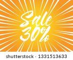 sale 30   beautiful greeting... | Shutterstock .eps vector #1331513633