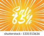 sale 65   beautiful greeting... | Shutterstock .eps vector #1331513636