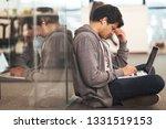 young indian software developer ... | Shutterstock . vector #1331519153
