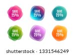 blur shapes. save 25  off. sale ... | Shutterstock .eps vector #1331546249