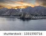 seafront of muscat  oman... | Shutterstock . vector #1331550716