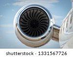 Jet Turbine Engine Of A...
