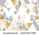 vector seamless geometric... | Shutterstock .eps vector #1331567789