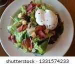 morning egg salad breakfast.... | Shutterstock . vector #1331574233
