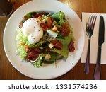 morning egg salad breakfast.... | Shutterstock . vector #1331574236