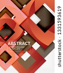 background abstract squares ... | Shutterstock .eps vector #1331593619