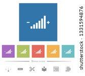 control element flat white... | Shutterstock .eps vector #1331594876
