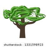 tree vector illustration | Shutterstock .eps vector #1331598923