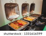 beautifully decorated catering...   Shutterstock . vector #1331616599