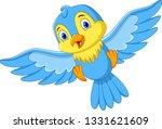 Cute Cartoon Little Birds Fly