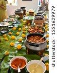 indian food buffet    Shutterstock . vector #1331629979