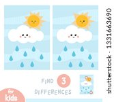 find differences  education... | Shutterstock .eps vector #1331663690