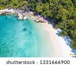 aerial of boulder island in... | Shutterstock . vector #1331666900