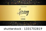 spring background with...   Shutterstock .eps vector #1331702819