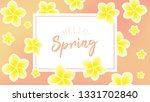 spring background with...   Shutterstock .eps vector #1331702840