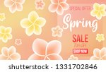 spring background with...   Shutterstock .eps vector #1331702846