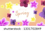 spring background with...   Shutterstock .eps vector #1331702849