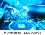 soft view of man hand disc... | Shutterstock . vector #1331705996