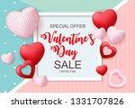 valentines day sale  discont...   Shutterstock . vector #1331707826