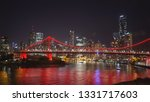 night time shot of the story... | Shutterstock . vector #1331717603