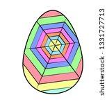 bright colored easter egg... | Shutterstock .eps vector #1331727713