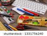 back to school. subjects for... | Shutterstock . vector #1331756240