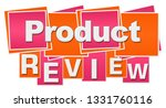 product review text written... | Shutterstock . vector #1331760116