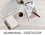 accounting. items for doing... | Shutterstock . vector #1331761139