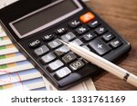 accounting. items for doing... | Shutterstock . vector #1331761169