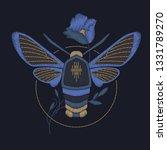 decorative element butterfly  ... | Shutterstock .eps vector #1331789270