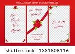 social media banner instagram... | Shutterstock .eps vector #1331808116