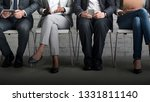 group of businesspeople sititng ... | Shutterstock . vector #1331811140