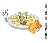 with envelope scrambled egg in... | Shutterstock .eps vector #1331823500