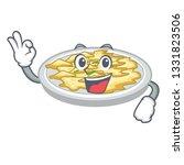 okay scrambled egg in the... | Shutterstock .eps vector #1331823506