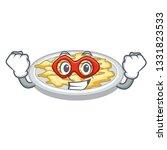 super hero scrambled egg in the ... | Shutterstock .eps vector #1331823533