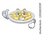thumbs up scrambled egg in the... | Shutterstock .eps vector #1331823539