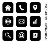 website icon  web icon set ... | Shutterstock .eps vector #1331840159