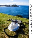 Small photo of Vacation accessary at bondi beach Sydney australia